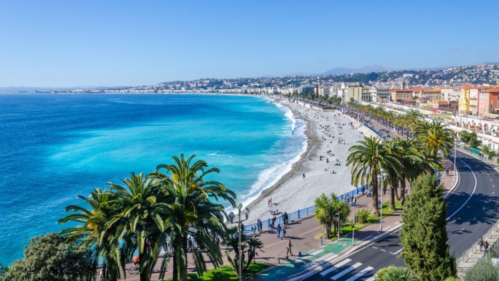 Beach photo - Nice - France - gay travel guide